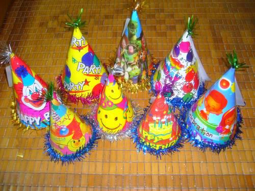 bán mũ sinh nhật